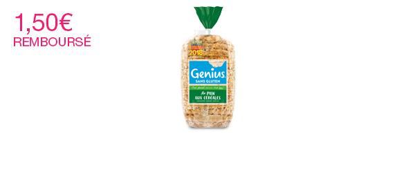 Genius Pain aux céréales sans gluten