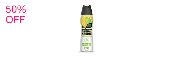 Lemon & Lime Foaming Shower Gel