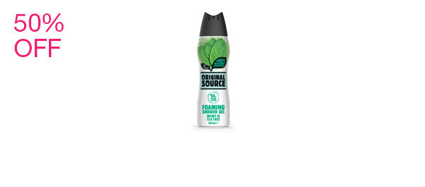 Mint Foaming Shower Gel