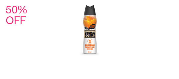 Orange Foaming Shower Gel