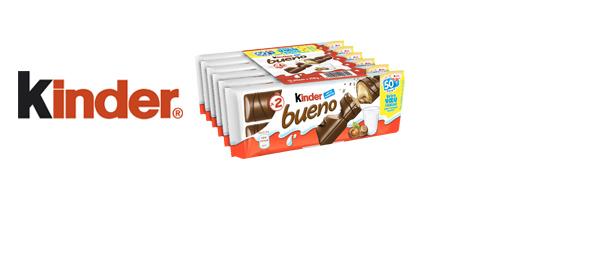 Les barres chocolatées Kinder