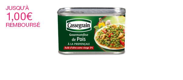 Gourmandise de Pois à la provençale