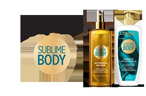 Sublime Body Hydratation Corps