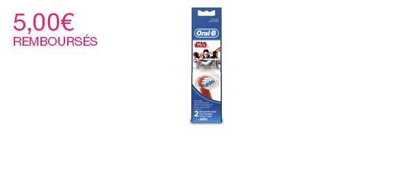 Brossettes de recharge Oral-B enfants