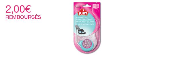Kiwi® ½ Semelles Antidérapantes