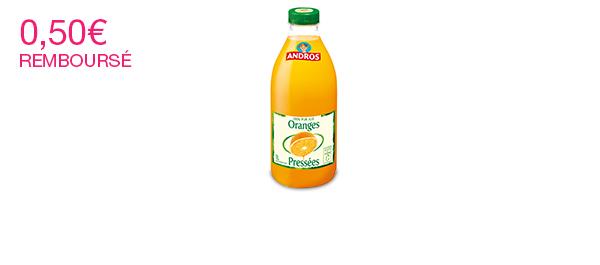 Les Jus de fruits Andros 1L