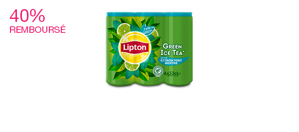 Lipton Green Ice Tea 6x33cl