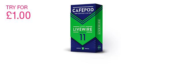 CafePod Livewire