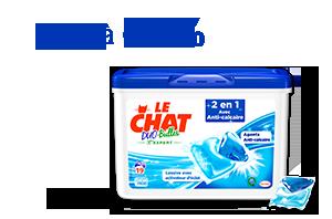 Le Chat Duo-Bulles 2en1 Anti-calcaire