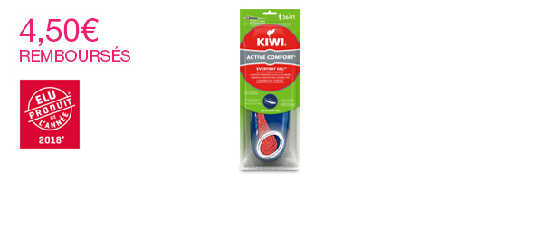 Semelles Kiwi Everyday Gel