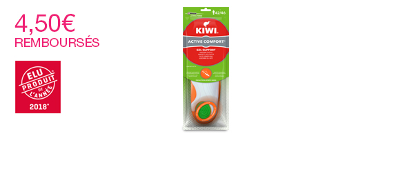 Semelles Kiwi Gel Support