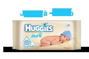 Huggies Lingettes Pure