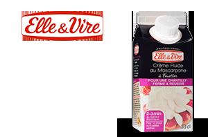 Crème fluide  au Mascarpone
