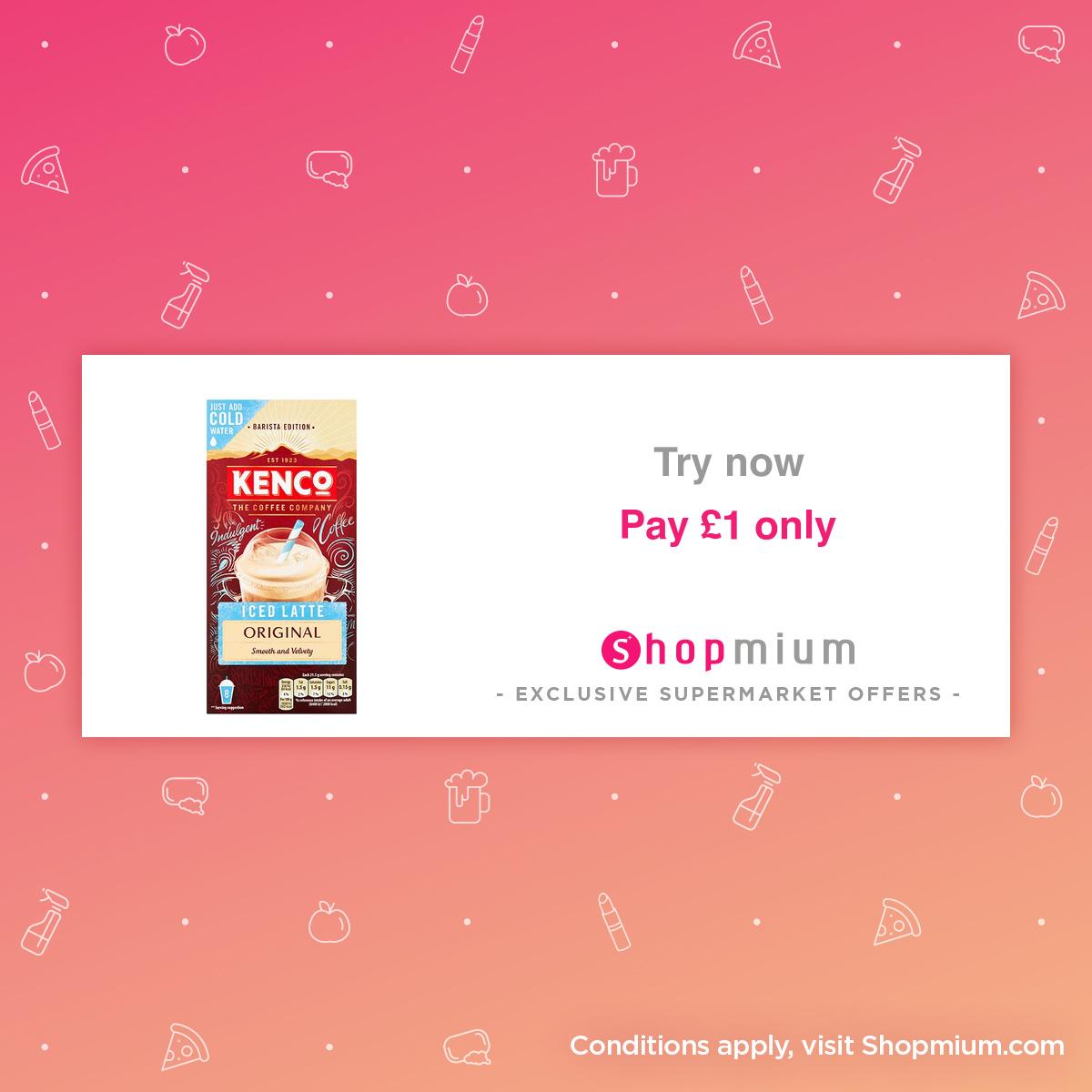 Shopmium Kenco Iced Latte