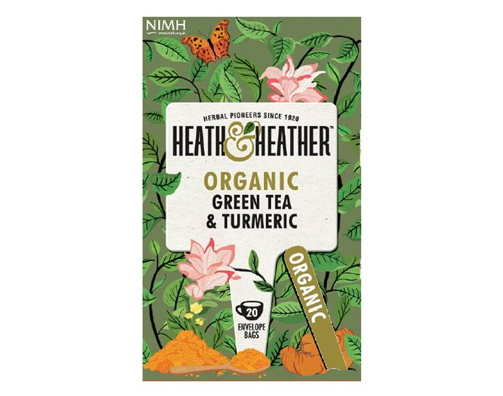 Green Tea & Turmeric 40g