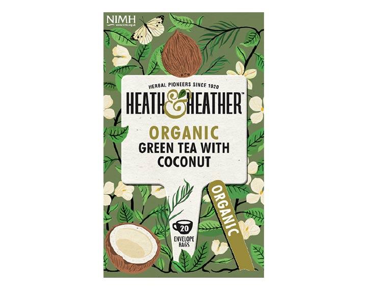 Green Tea & Coconut 40g
