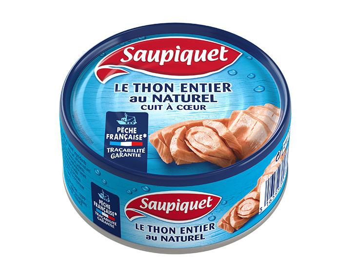 Thon au Naturel Thon au Naturel Pêche Française Cuit à Coeur 160g