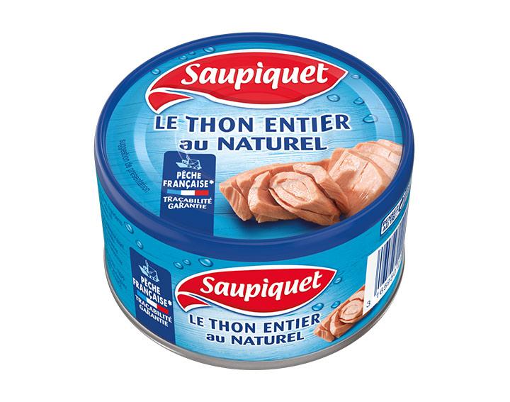 Thon au Naturel Pêche Française 133g