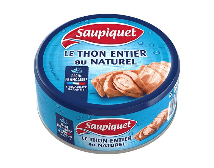 Thon au Naturel Pêche Française 265g