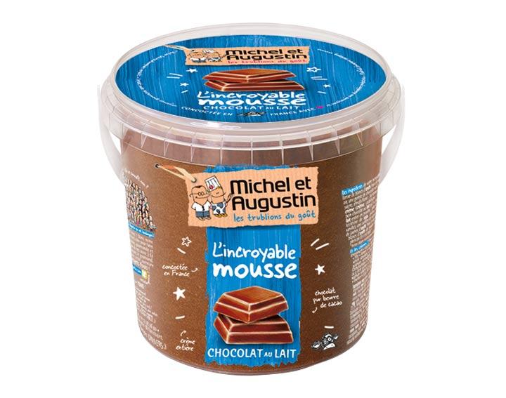 Mousse au chocolat au lait 500ml