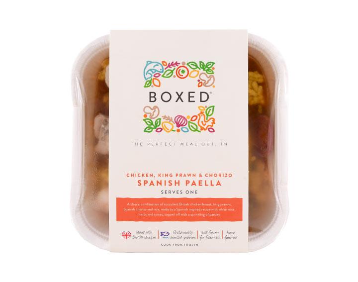 Spanish Paella - Serves 1