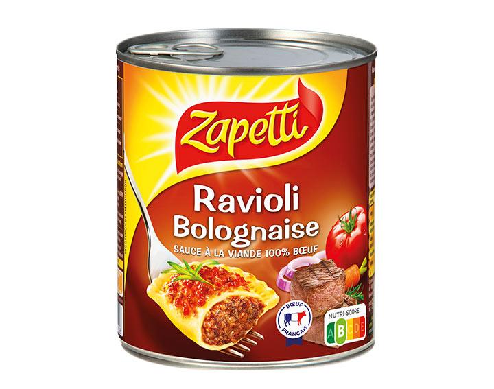 Bolognaise sauce à la viande 100% Bœuf