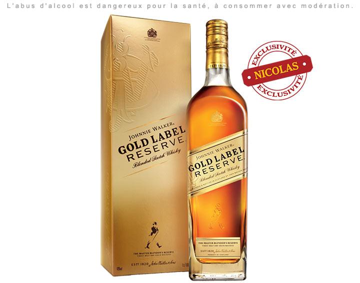 Johnnie Walker Gold Label Reserve 70cl 40°