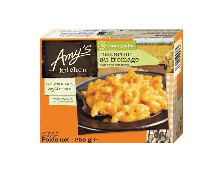 Macaroni au fromage sans gluten