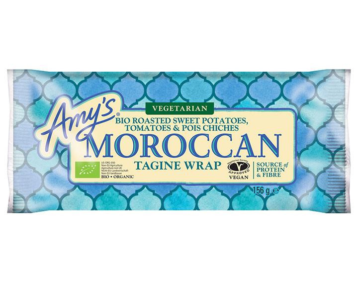 Wrap bio Tajine à la marocaine