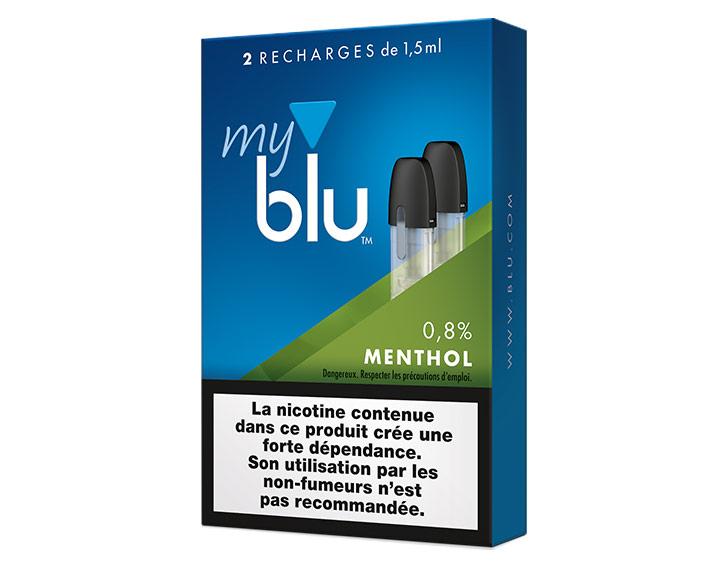 Saveur Menthol (0%, 0,8% ou 1,6%)