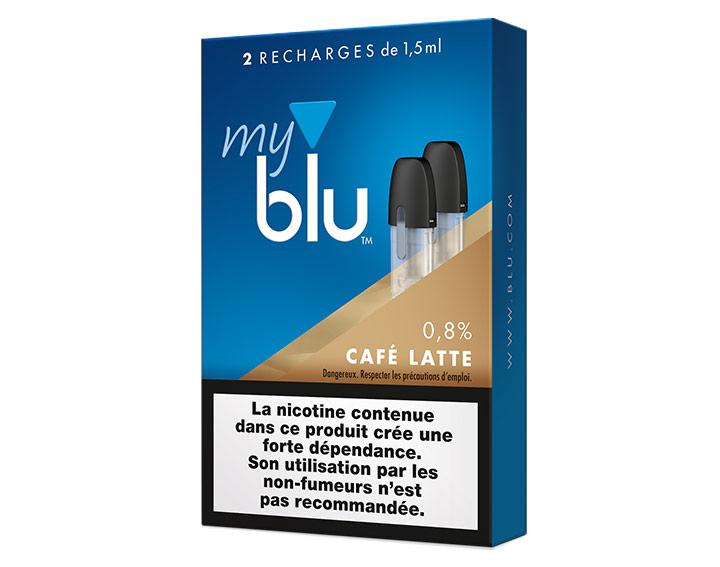 Saveur Café latté (0%, 0,8% ou 1,6%)