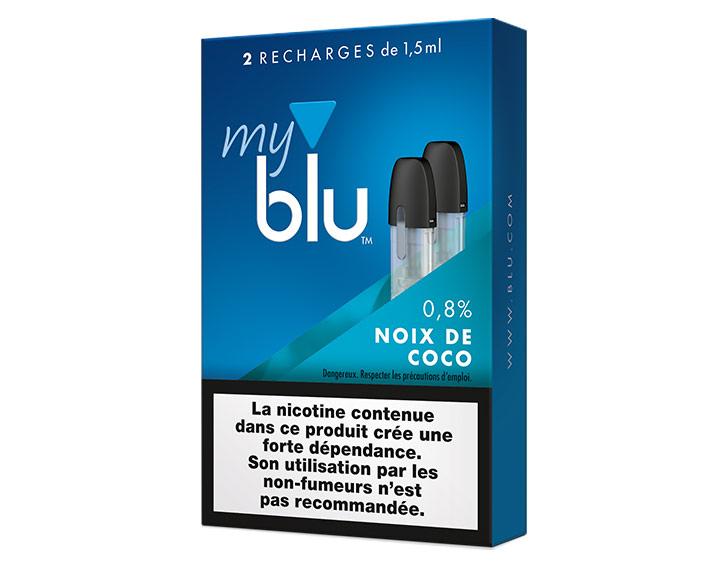 Saveur Noix de coco (0%, 0,8% ou 1,6%)