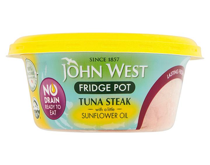 Tuna Steak with a Little Sunflower Oil 110g