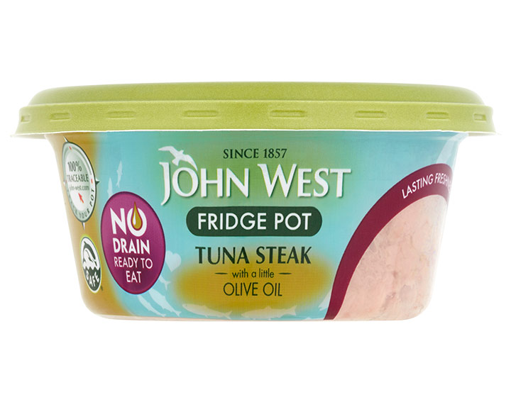 Tuna Steak with a Little Olive Oil 110g