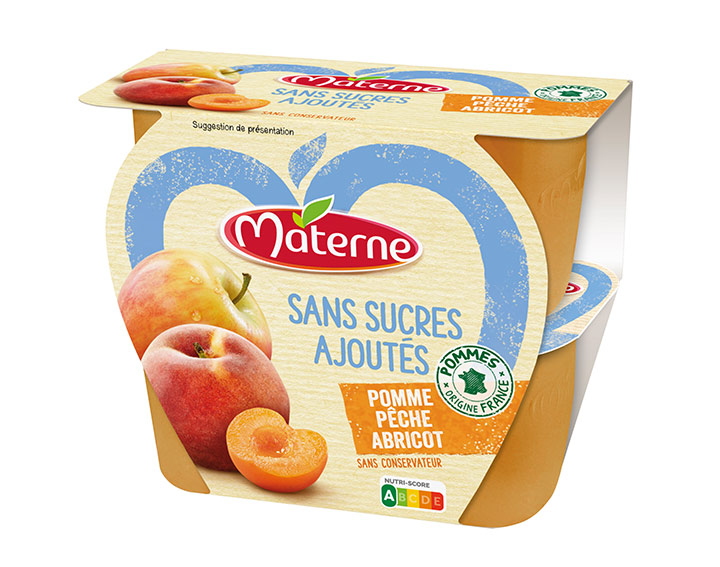 Pomme Pêche Abricot 4x100g