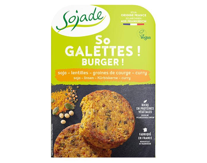 So Galette ! 2x90g (Soja - Lentilles)