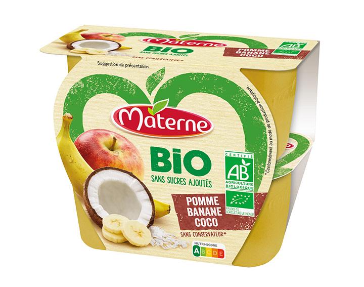 Pomme Banane Coco Bio 4x100g
