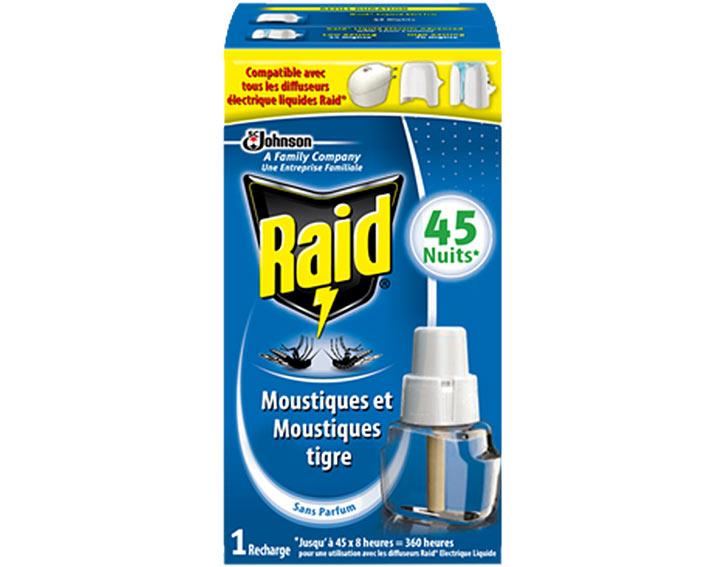 Raid® Recharge électrique liquide 45 nuits