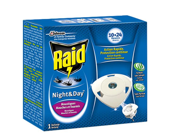 Raid® Night & Day™ - Recharge