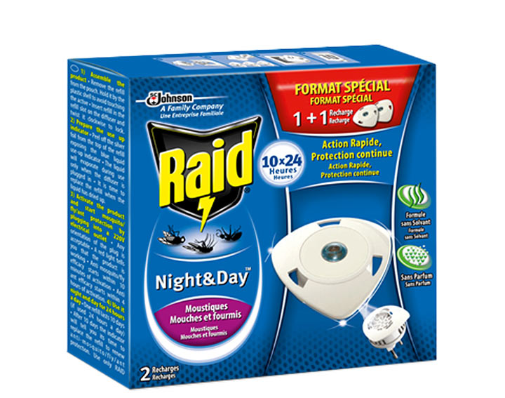 Raid® Night & Day™ - Double Recharges