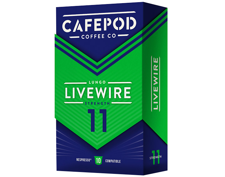 Livewire 10 capsules 55g
