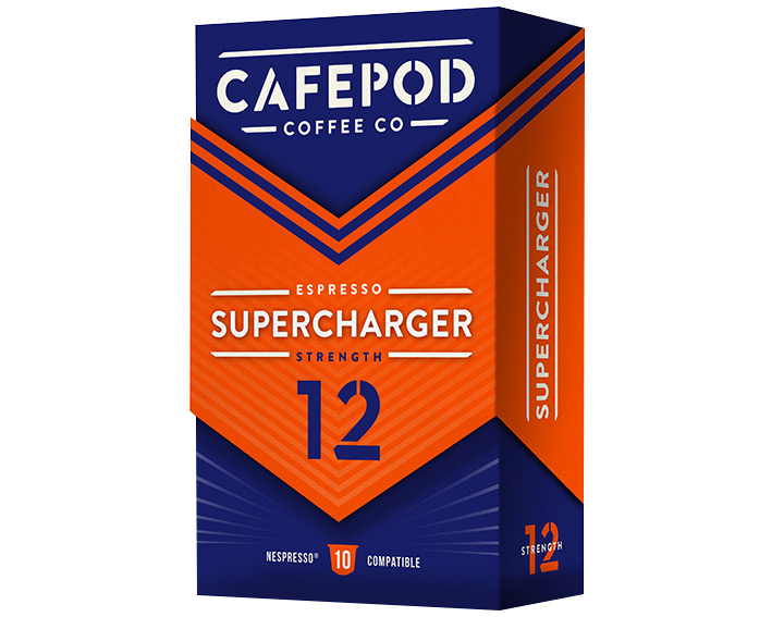 Supercharger 10 capsules 55g