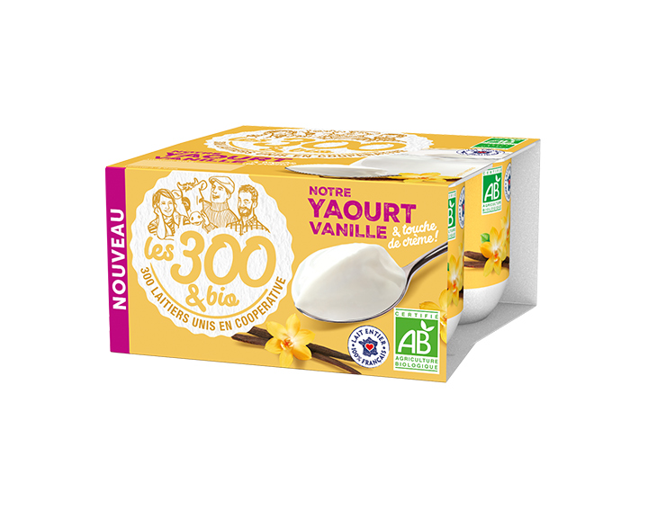 Yaourt vanille 4x125g