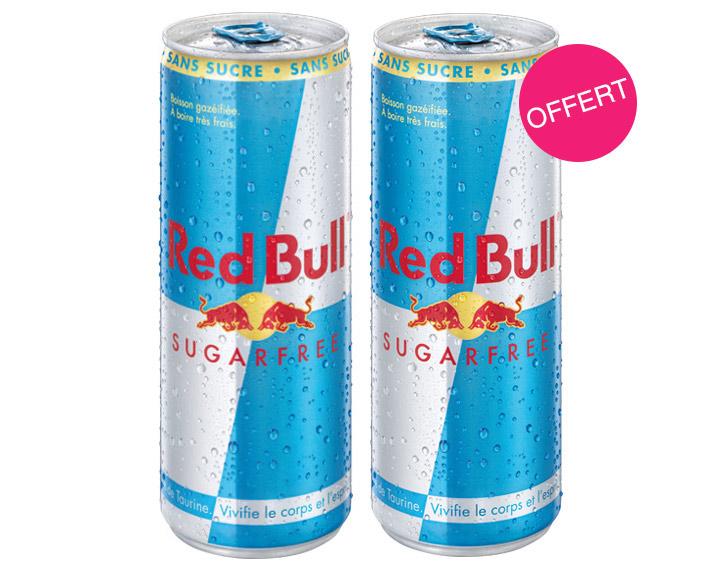 1 Red Bull Sugarfree acheté = 1 offert