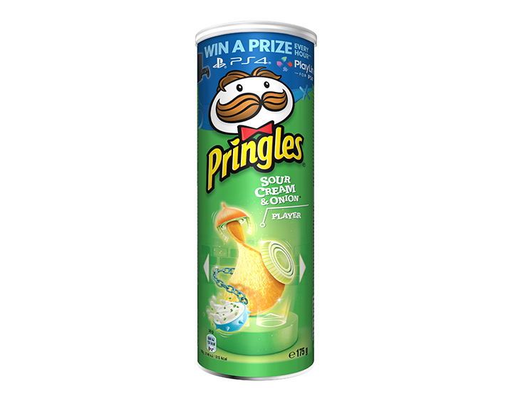 Pringles saveur Sour Cream & Onion* 175g