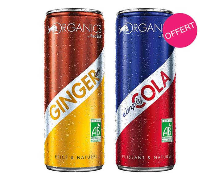 1 ORGANICS by Red Bull acheté = 1 offert