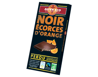 Noir écorces d'orange