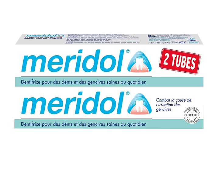 Dentifrice meridol® Protection gencives DUO