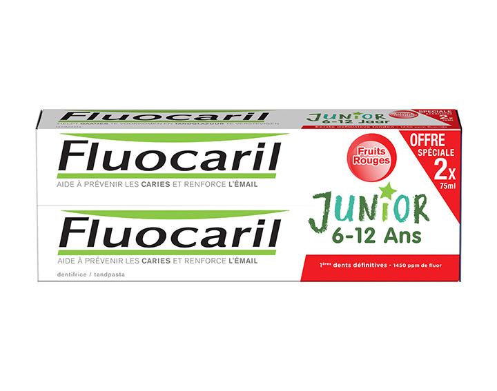 Junior 6-12 Ans Fruits Rouges 2x75ml