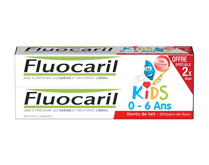 Kids 0-6 Ans Fraise 2x50ml
